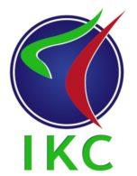 IKC logo auf weißem hintergrund
